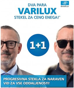 Dva para Varilux stekel za ceno enega
